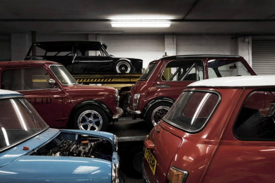 Austin Minis limited edition print